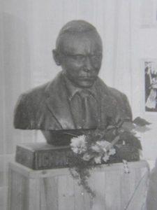 Henryk Jan Dominiak Ignacy Solarz 1986 popiersie - DOMINIAK AH