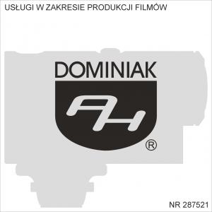 Usługi w zakresie produkcji filmów Henryk Jan Dominiak, Tychy, Śląskie, Polska, Europa, Świat