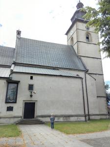 Grażyna Dominiak 2016-07-08 - Stary Sącz - kościół parafialny pod wezwaniem św. Elżbiety Węgierskiej w Starym Sączu - DOMINIAK AH