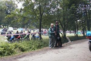 Grażyna Dominiak - Międzynarodowy Zlot Motocykli w Solinie - 2003 - DOMINIAK AH