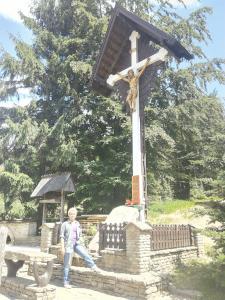 Grażyna Dominiak - Przełęcz Salmopolska, czyli Biały Krzyż - 2016 07 02 - DOMINIAK AH