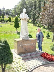 Grażyna Dominiak - Wadowice - BŁ. KS. JERZY POPIEŁUSZKO (rzeźba) - 2016 06 25 - DOMINIAK AH