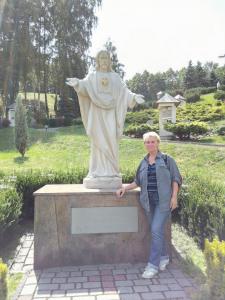 Grażyna Dominiak - Wadowice - Jezus Chrystus (rzeźba) - 2016 06 25 - DOMINIAK AH