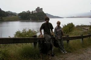 Grażyna Dominiak - Zamek Niedzica lipiec 2003 - DOMINIAK AH