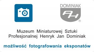 Wizytówka Muzeum możliwość fotografowania eksponatów