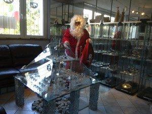 Mikołaj w Muzeum Miniaturowej Sztuki Profesjonalnej Henryk Jan Dominiak 1