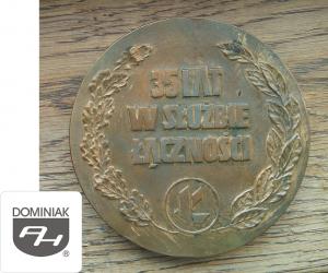 MMSPHJD FAL61 – 35 LAT W SŁUŻBIE ŁĄCZNOŚCI logo Ł (rewers) - Henryk Jan Dominiak