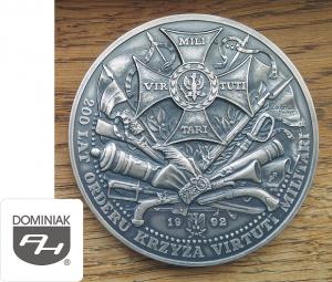 MUZEUM MMSPHJD EUROPA FAL67 – 200 LAT ORDERU KRZYŻA VIRTUTI MILITARI 1992 TWO Zieleńce 18 VI 1792 P.P. (awers) - Henryk Jan Dominiak