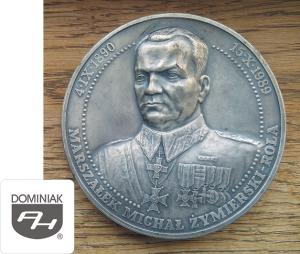 MMSPHJD FAL68 – MARSZAŁEK MICHAŁ ŻYMIERSKI – ROLA 4 IX 1890 15 X 1989 (rewers) - Henryk Jan Dominiak