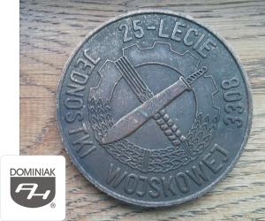 MMSPHJD FAL70 – 25 – LECIE JEDNOSTKI WOJSKOWEJ 3308 (rewers) - Henryk Jan Dominiak