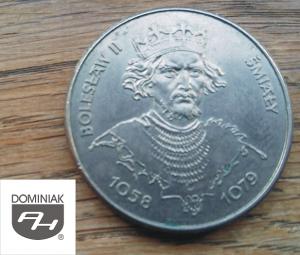 Twoje zbiory w Zielone Tychy Kultura MONETA Bolesław II Śmiały 1058-1079 - Henryk Jan Dominiak