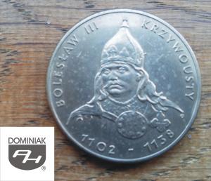 Twoje zbiory w Zielone Tychy Kultura MONETA Bolesław III Krzywousty 1102-1138 - Henryk Jan Dominiak
