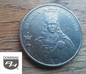Twoje zbiory w Zielone Tychy Kultura MONETA Jadwiga 1384-1399 - Henryk Jan Dominiak