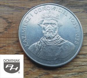 Twoje zbiory w Zielone Tychy Kultura MONETA Kazimierz I Odnowiciel 1039-1058 - Henryk Jan Dominiak