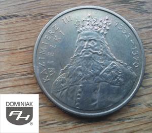 Twoje zbiory w Zielone Tychy Kultura MONETA Kazimierz III Wielki 1333-1370 - Henryk Jan Dominiak