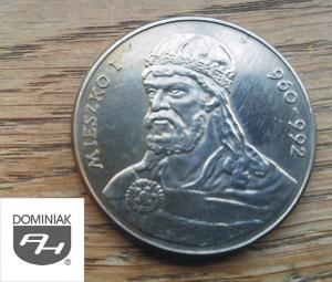 Twoje zbiory w Zielone Tychy Kultura MONETA Mieszko I 960-992 - Henryk Jan Dominiak