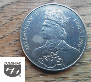 Twoje zbiory w Zielone Tychy Kultura MONETA Przemysław II 1295-1296 - Henryk Jan Dominiak