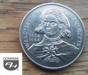 Twoje zbiory w Zielone Tychy Kultura MONETA Władysław III Warneńczyk 1434-1444 - Henryk Jan Dominiak