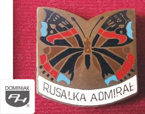 MMSPHJD EMB160 – RUSAŁKA ADMIRAŁ (awers) EMBLEMATYKA MUZEUM - Henryk Jan Dominiak