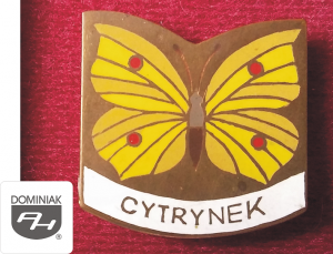 MMSPHJD EMB162 – CYTRYNEK (awers) EMBLEMATYKA MUZEUM - Henryk Jan Dominiak