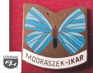 MMSPHJD EMB163 – MODRASZEK – IKAR (awers) EMBLEMATYKA MUZEUM - Henryk Jan Dominiak
