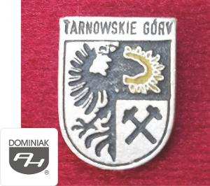 MMSPHJD HER51 – HERB - TARNOWSKIE GÓRY (awers) HERALDYKA MUZEUM - Henryk Jan Dominiak
