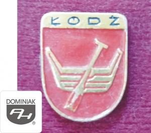 MMSPHJD HER19 - HERB – ŁÓDŹ (awers) HERALDYKA MUZEUM - Henryk Jan Dominiak