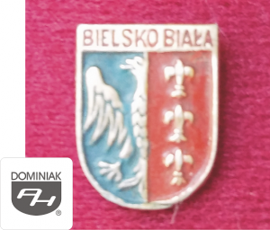 MMSPHJD HER46 - HERB – BIELSKO BIAŁA (awers) HERALDYKA MUZEUM - Henryk Jan Dominiak