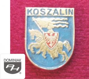 MMSPHJD HER38 - HERB – KOSZALIN (awers) HERALDYKA MUZEUM - Henryk Jan Dominiak