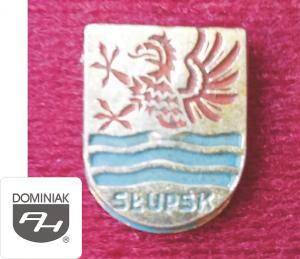 MMSPHJD HER57 - HERB – SŁUPSK (awers) HERALDYKA MUZEUM - Henryk Jan Dominiak