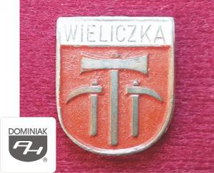 MMSPHJD HER13 - HERB – WIELICZKA (awers) HERALDYKA MUZEUM - Henryk Jan Dominiak
