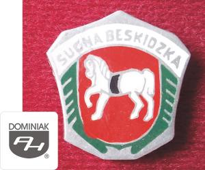 MMSPHJD HER21 – HERB MIASTA SUCHA BESKIDZKA (awers) HERALDYKA MUZEUM - Henryk Jan Dominiak