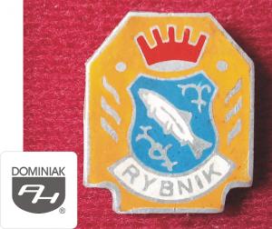 MMSPHJD HER29 – HERB MIASTA RYBNIK (awers) HERALDYKA MUZEUM - Henryk Jan Dominiak
