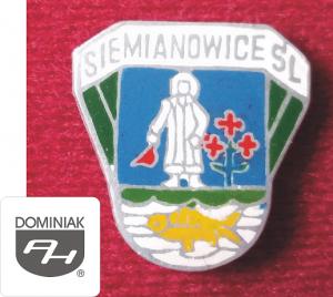 MMSPHJD HER31 – HERB MIASTA SIEMIANOWICE ŚL. (awers) HERALDYKA MUZEUM - Henryk Jan Dominiak