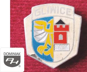 MMSPHJD HER35 – HERB MIASTA GLIWICE (awers) HERALDYKA MUZEUM - Henryk Jan Dominiak