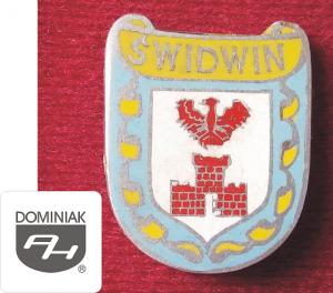 MMSPHJD HER47 – HERB MIASTA ŚWIDWIN (awers) HERALDYKA MUZEUM - Henryk Jan Dominiak