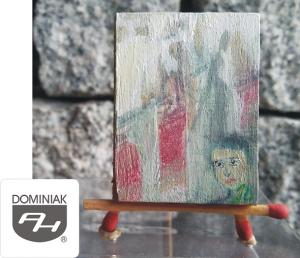 MMSPHJD MAL36 akryl płótno – OBOJĘTNOŚĆ - Justyna Weronika Bruj MALARSTWO MUZEUM - Henryk Jan Dominiak