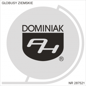 Henryk Jan Dominiak Globusy Ziemskie, Tychy, Śląskie, Polska, Europa, Świat
